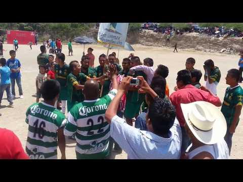 Celebración - San Lorenzo (SANTOS), Campeón Segunda Fuerza de Futbol Peñamiller, AGOSTO 09, 2015