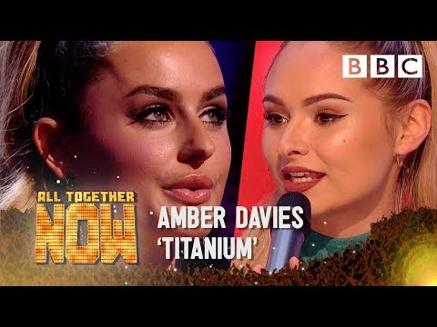 Reality TV Star Amber Davies Faces 100 Judges After 'Titanium' Act - BBC All Together Now 🎤