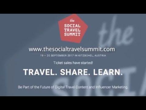 The Social Travel Summit Kitzbühel Austria 19 20 September 2017