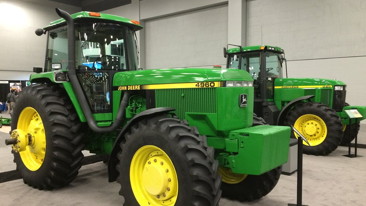 hight resolution of john deere 4960 and 7810 tractors with only 6 and 18 hours both last serial number models youtube
