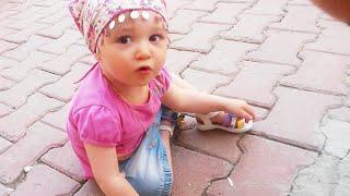 ÖYKÜ BEBEK -  2 yaş öncesi dünya tatlısı bir bebiş - Eğlenceli Çocuk Videosu