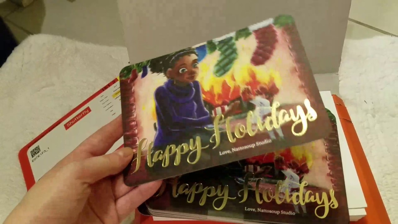 Shutterfly Christmas Card Reveal - YouTube