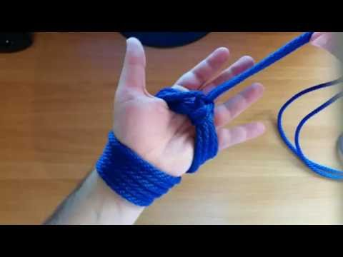 Rope Tutorial Hand Cuffs