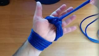 Rope Bondage Tutorial: Hand Cuffs
