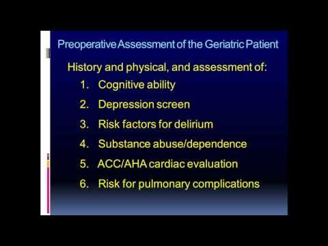 assessment of the geriatric patient with An in-depth assessment and physical exam should be performed when patients are identified to be malnourished or at nutritional risk a review of symptoms and objective clinical findings should be assessed in addition to the patient's cultural factors, preferences, social needs/desires surrounding meals.