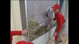 видео Шкафы-купе в домашнем интерьере