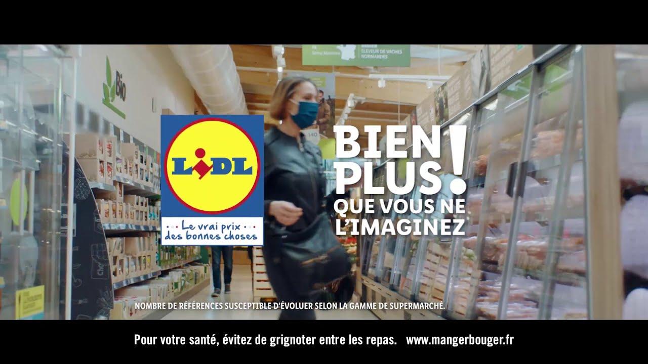 Nouvelle grande campagne de pub TV avec Lidl !