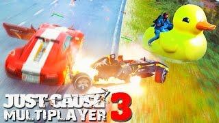 Just Cause 3: Multiplayer - ПЕРВЫЙ В РОССИИ ГЕЙМПЛЕЙ С УТКАМИ (Смешные Моменты и Фейлы)
