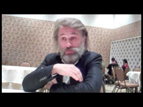 Christoph Waltz Interview - Django Unchained