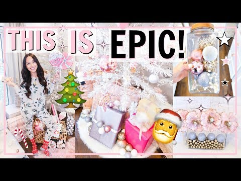 ULTIMATE DECORATE WITH ME FOR CHRISTMAS! BEST HOME TOUR OF HOLIDAY DECOR! | Alexandra Beuter