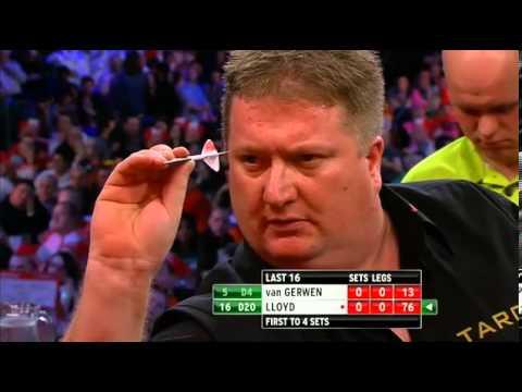van Gerwen v Lloyd | 1/3 | Third Round | World Darts Championship 2013
