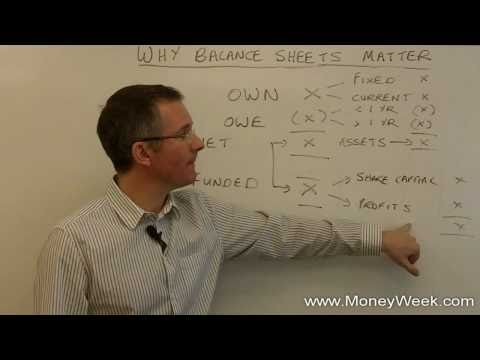 What is a balance sheet? - MoneyWeek Investment Tutorials