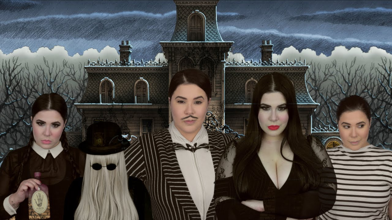 Los Locos Addams Canción Amanda Flores Cover Especialdehalloween Loslocosaddams Youtube
