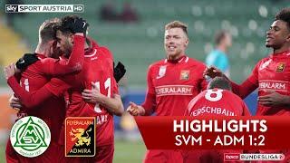 tipico Bundesliga, 17. Runde: SV Mattersburg - FC Flyeralarm Admira 1:2