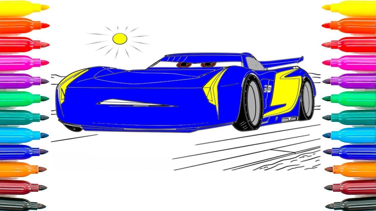 Kleurplaten Francesco Cars 2.Hoe Om Auto S Te Kleuren 3 Jackson Storm Coloring Pages Hoe Jackson