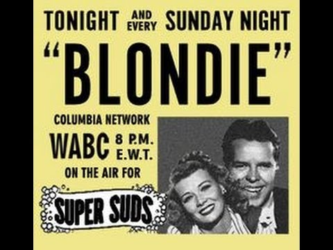 "Blondie & Dagwood - ""Dagwood's New Suit"" 10/30/39 Old Time Radio/Comedy"