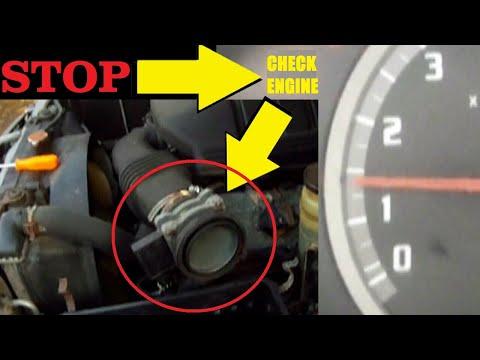 F I X CHECK ENGINE light problem – How to Clean MASS AIR FLOW SENSOR – ISUZU / HONDA MAF SENSOR UNIT