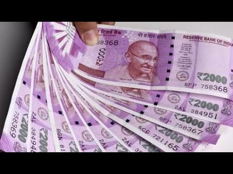 Printing Indian currency in RBI printing press 2000 Notes...