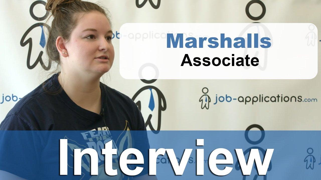 Marshalls Sales Associate - Job Description & Salary