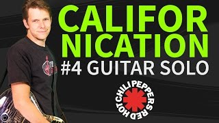 How To Play Californication Guitar Lesson #4 Guitar Solo