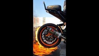 STUNTS WITH FIRE & GLASS #shorts