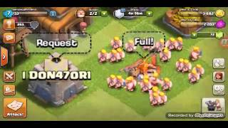 Clash of clans finalmente in lega bronzo 3 !