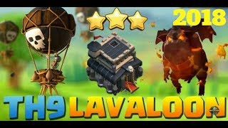 Clash of Clans | Th 9 Lava loon attack guide | Town Hall 9 strategy by Clash of Cruz