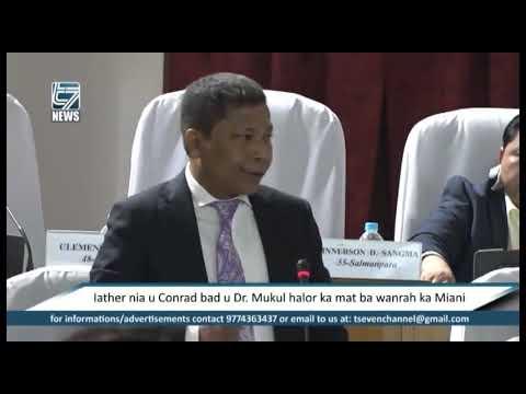 Iather nia u Conrad bad u Dr Mukul halor ka mat ba wanrah ka Miani