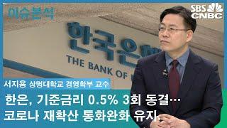 """[이슈분석] 한은, 기준금리 0.5% 3회 동결…""""통화…"""