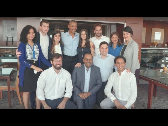 President Obama Meets with Young Leaders in Sao Paulo