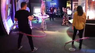 PLAYSHOP | CT Science Center | Liquid Lounge | Disco Inferno 2018 | Hartford Hula Hooping Dance