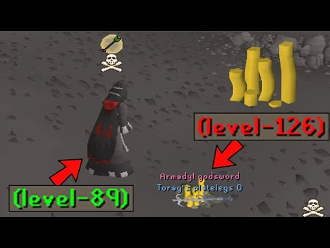 The Most Overpowered Account Destroys Entire Clans!! (High Risk Pking)
