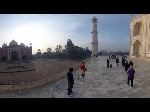 #indie #travel #TajMahal #panorama360