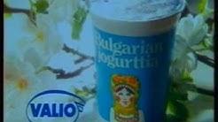 Valio Bulgarian jogurtti arkistomainos