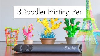 What Can the 3Doodler Do? // 3D Printing Pen Review