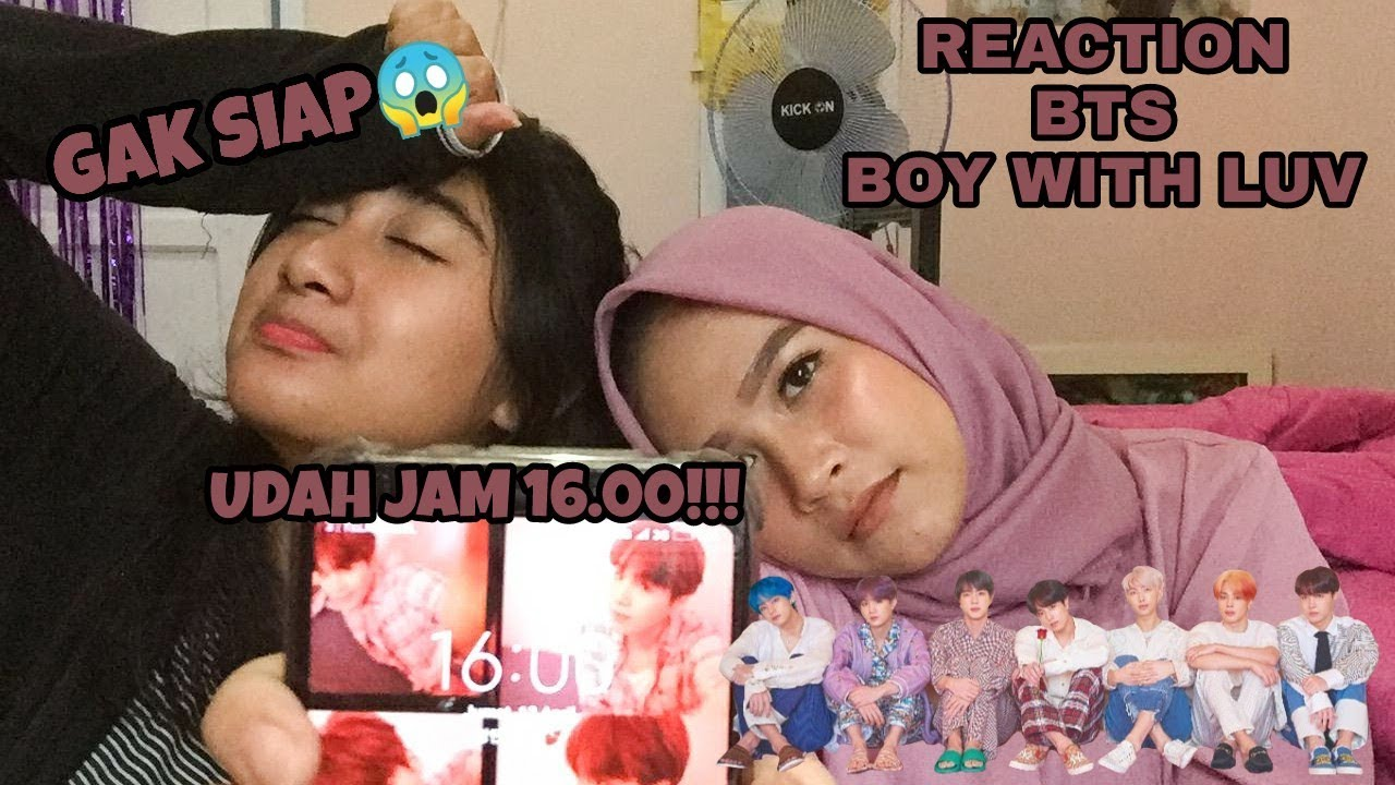 SPEECHLESS WOY!! BTS - Boy With Luv feat. Halsey (MV REACTION INDONESIA)