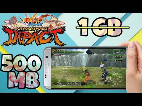 Highly Compressed Naruto Shippuden Ultimate Ninja Impact Psp Iso Download |Hindi