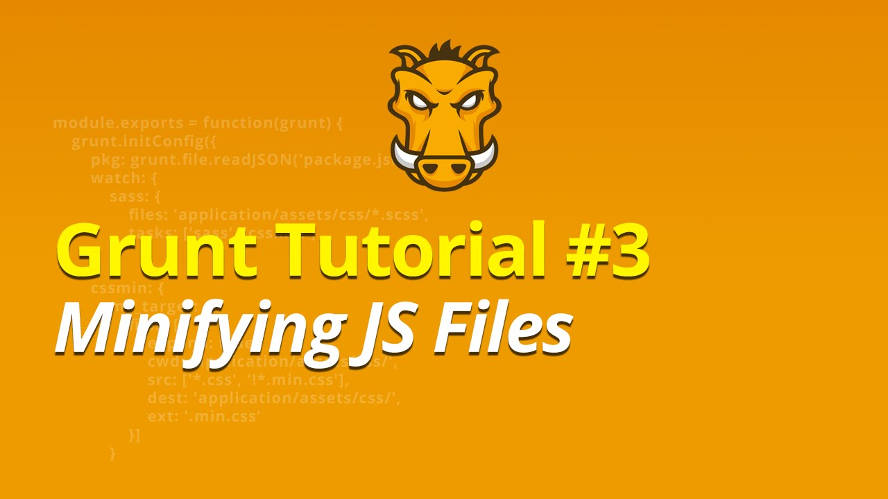 Grunt Tutorial - #3 - Minifying CSS Files