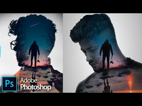 How To Make A Double Exposure Effect In Adobe Photoshop