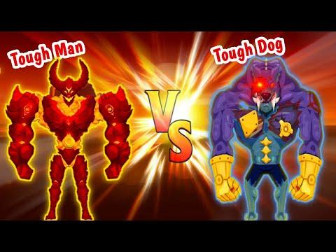 "Tough Man - MAX LEVEL EVOLUTION! ""TOUGH MAN vs TOUGH DOG"""