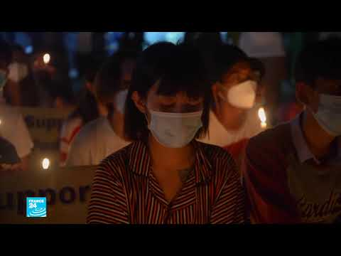 بورما: المجلس العسكري يستمر في قمع المتظاهرين واعتقالهم ويحجب شبكة الإنترنت  - 13:59-2021 / 4 / 3