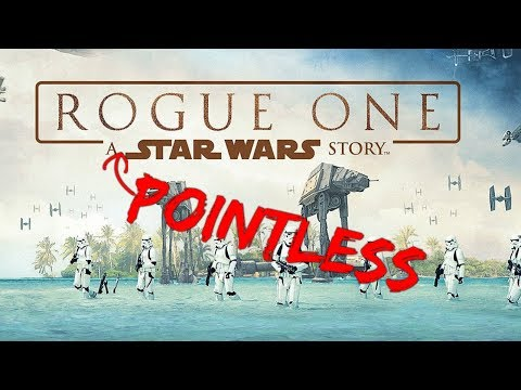 Top Ten Reasons Why Rogue One Sucks and is Pointless