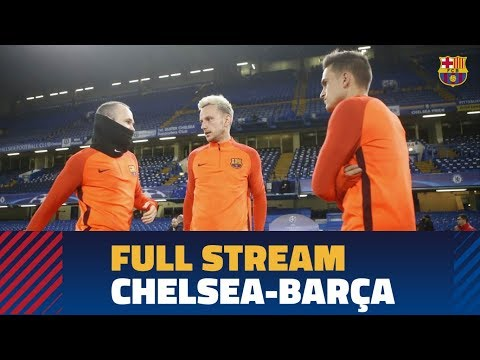FULL STREAM | Press conference and training session ahead of Chelsea - Barça