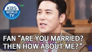 "Fan ""Are you married? Then how about me?"" [Happy Together/2019.08.15]"