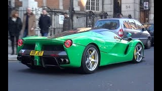 Crazy Supercars in London - Jay Kay