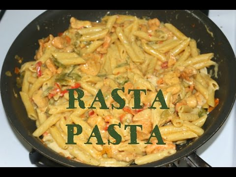 Great rasta pasta recipe image here, very nice angles