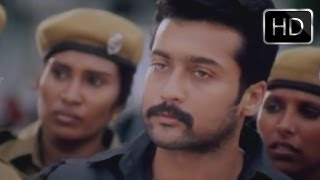Deva Movie || Introduction Of Surya As Detective Agent In The Movie