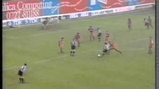 Crystal Palace v Newcastle, 15th October 1994, Premier League