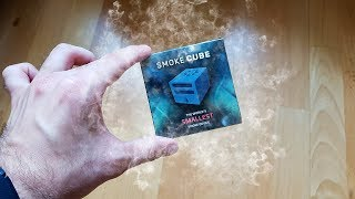 Magic Review #39 - Smoke Cube by João Miranda  - Smallest Smoke Device ?!