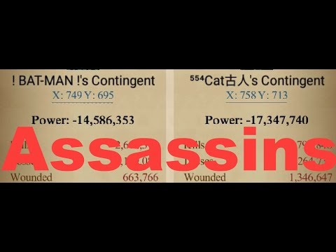 Clash of Kings : THE ASSASSINS : Half Rally enough to BURN 170 Million P6 😁😏